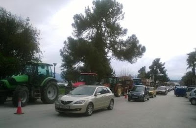 Στους δρόμους οι αγρότες της Σαγιάδας - Αύριο η πρώτη συγκέντρωση