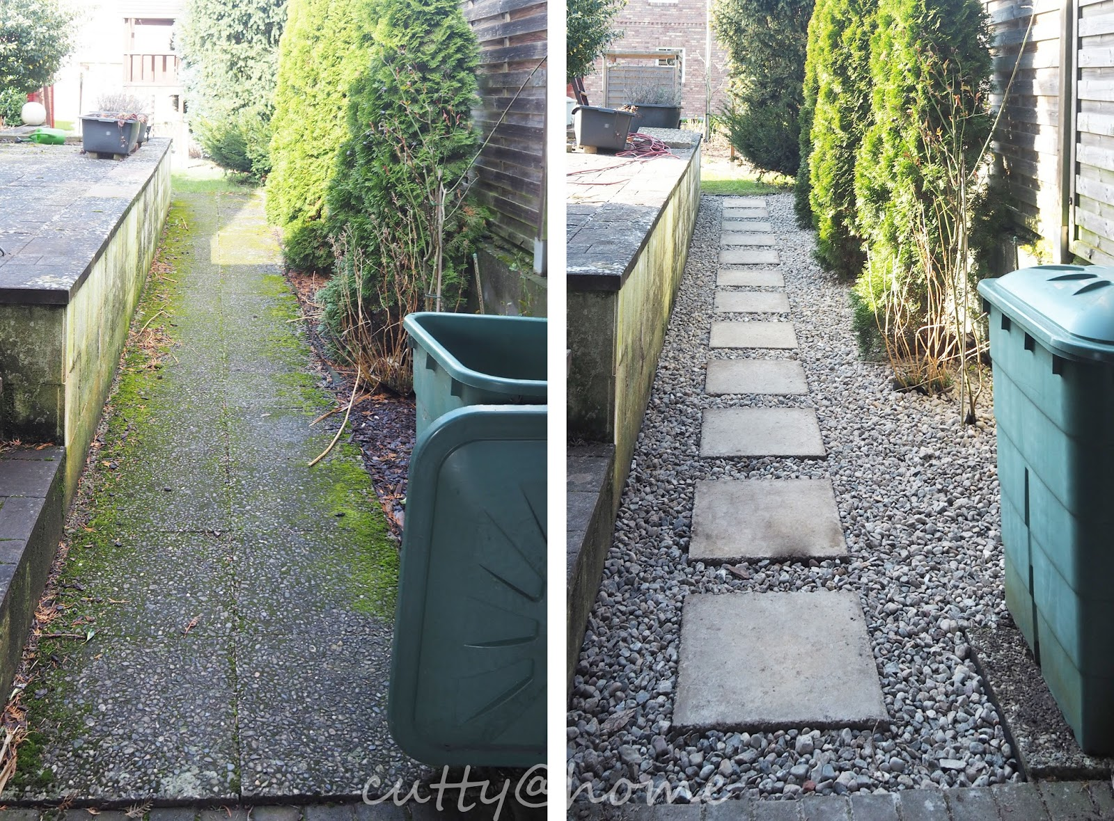 cutty@home - schöner Wohnen? Leicht gemacht!: Upcycling: Gartenweg ...