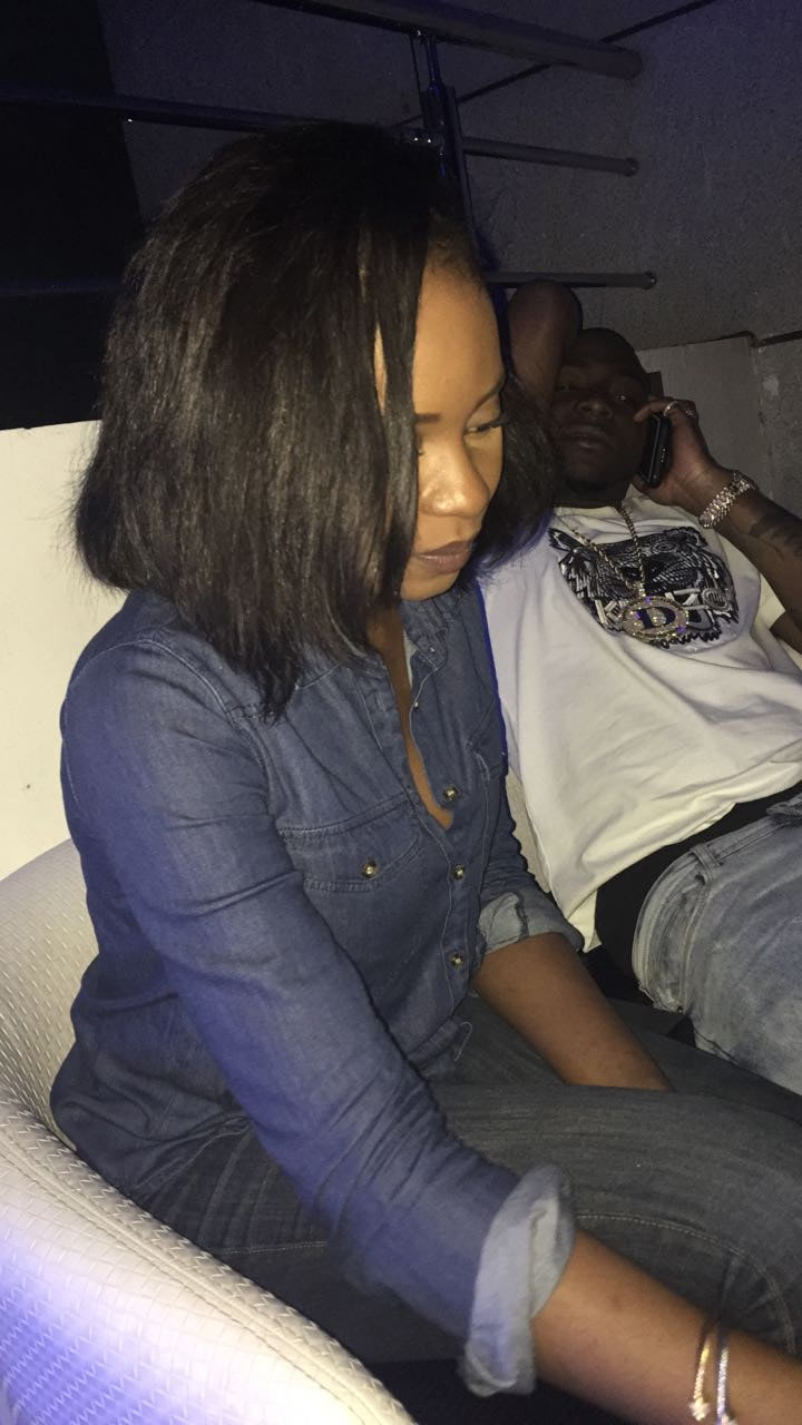 New bae alert! Davido and his pretty girlfriend goes on a date