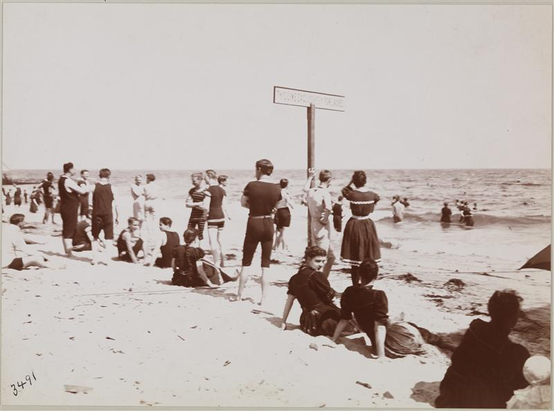 Rockaway Beach In The Late 1890s