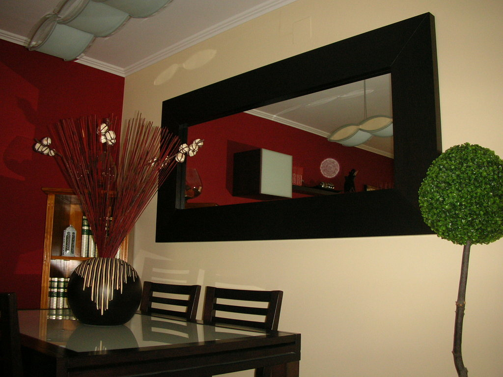 Espejo Del Comedor | Espejos De Baño 15 Diseños De Todos Los Estilos