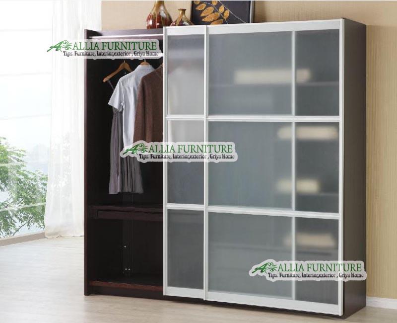 Lemari Pakaian Minimalis 3 Pintu Laci Bed Mattress Sale