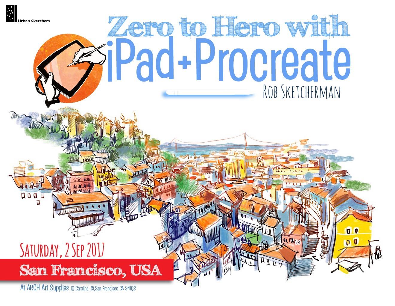 zero to hero with ipad and procreate san francisco ca usa