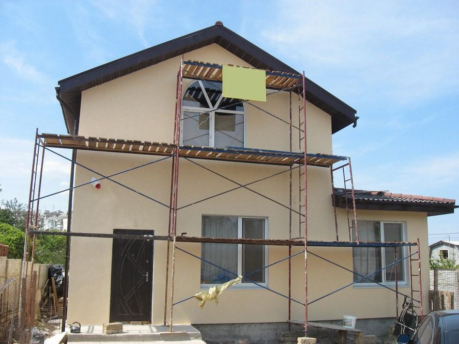 Фасад дома Севастополь