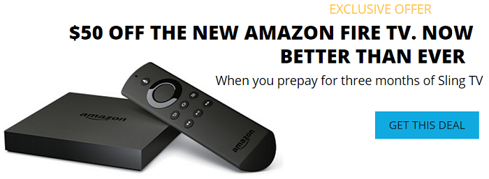 Thoughts after a year of Sling TV - get $50 off the amazon fire tv