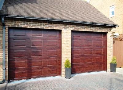 pintu garasi dorong minimalis
