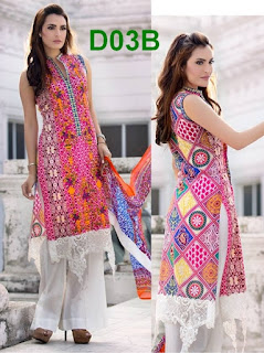 Nadia Hussain Lawn 2016-17 Summer Dresses