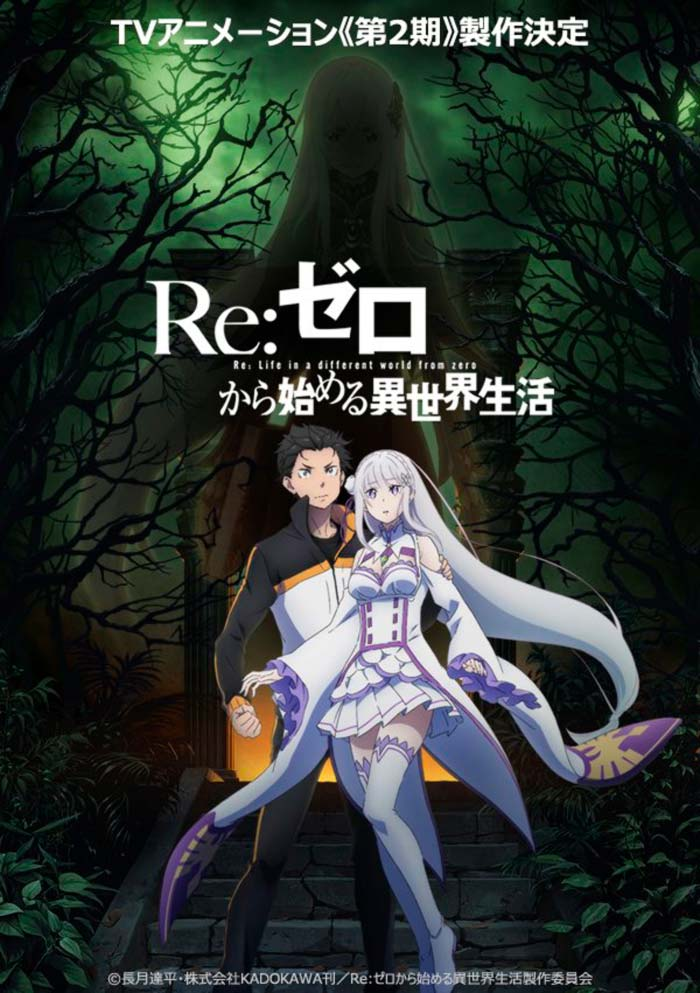 Re:Zero anime temporada 2