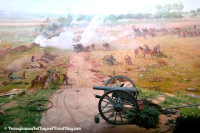 Cyclorama in Gettysburg Pennsylvania