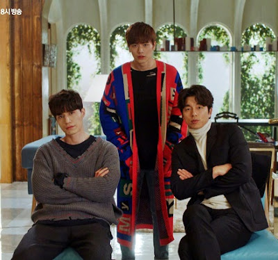 Lee Dong Wook, Sung Jae and Gong Yoo