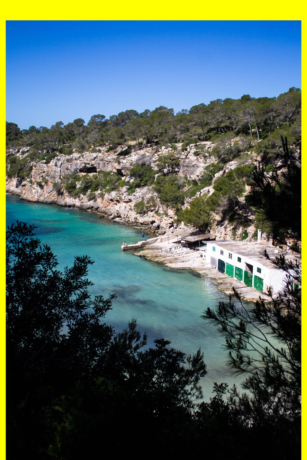 Majorca, Cala Pi, Ona Hotel Cala Pi, Mallorca, holidays, Spain, graphic design, primary colours,