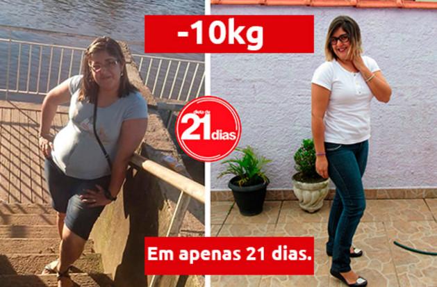 antes e depois fiquei magra