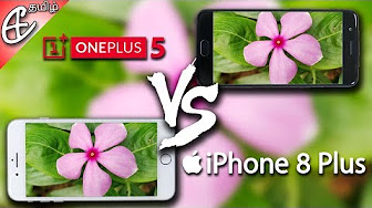 iPhone 8 Plus vs OnePlus 5 In-Depth Camera Comparison! | Tamil