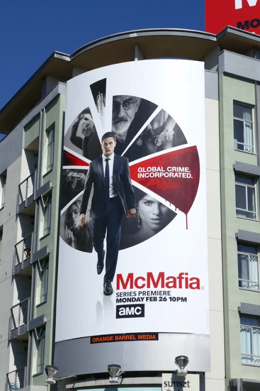 McMafia TV series billboard