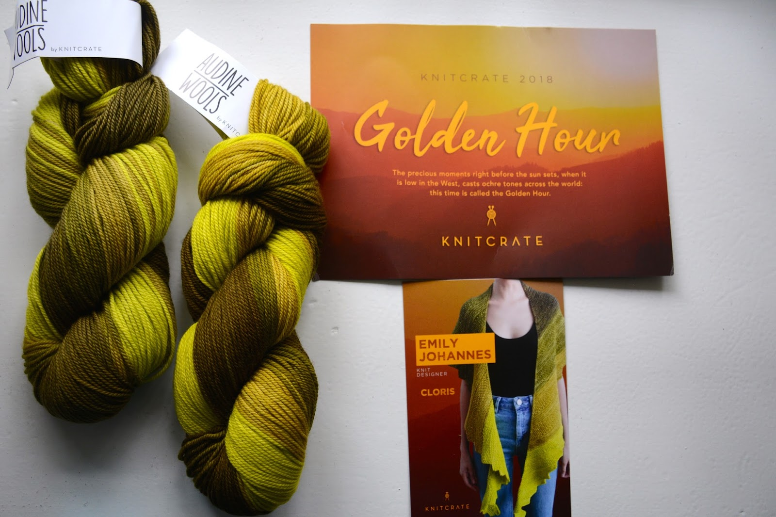 april knitcrate - a Friend to knit with