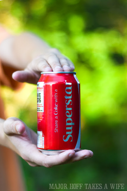 Share a Coke with a Superstar Friend!