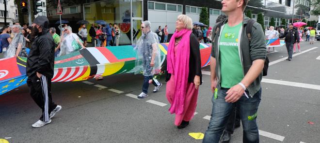 Christopher Street Day, Köln, Cologne Pride, anders.Leben, Lesben, Schwule, Bisexuell, Transsexuell, Transgender, Intersexuell, Demonstartion, Demo, CSD