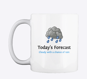 Need a gift idea? Weather blog mugs are here!