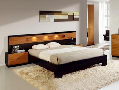 gambar dipan kayu jati minimalis modern terbaru