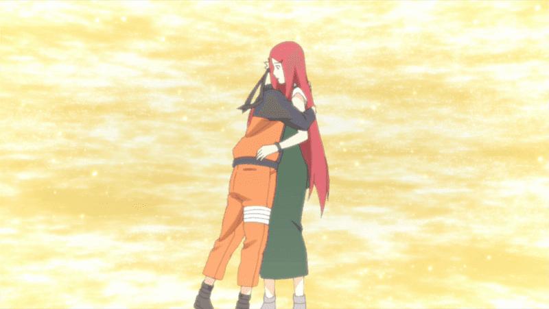 naruto terharu bisa bertemu dengan ibunya