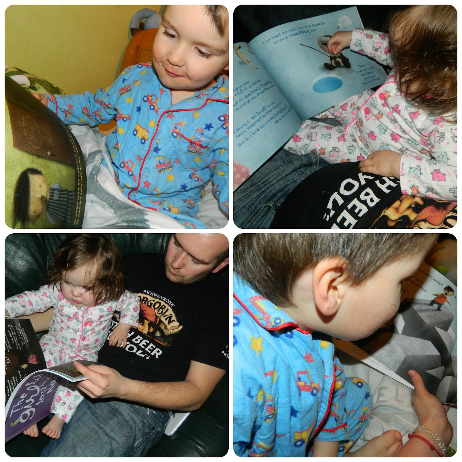 Reading Lost My Name Books - The Little Boy who lost his name and the little girl who lost her name