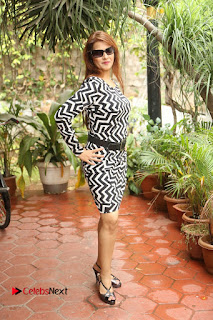 Actress Saloni Latest Pos in Short Dress  0280.JPG