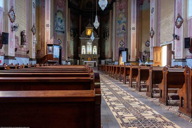 Igreja Imaculado Coração de Maria - interior