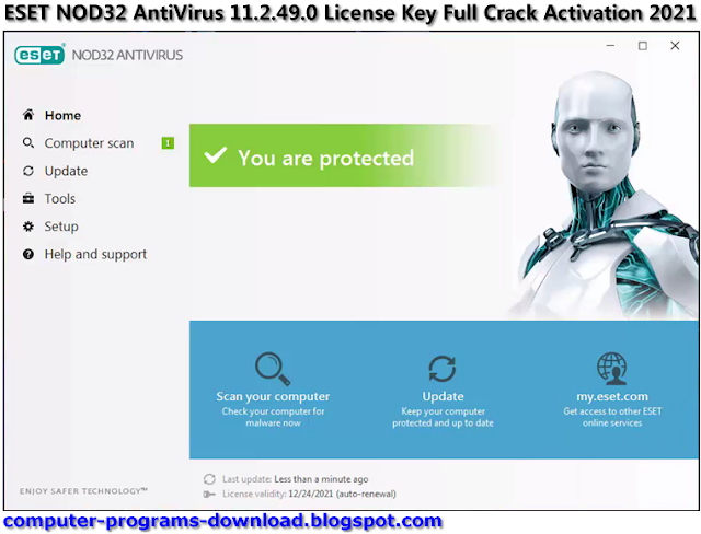 eset nod32 license key 2021