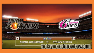 Today BBL 2018-19 4th Match Prediction Sydney Sixers vs Perth Scorchers