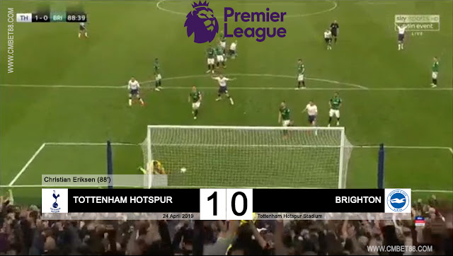 Cuplikan Gol Tottenham Hotspur VS Brighton