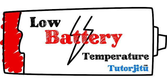 warning low battery temperature fix