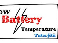 Cara Mengatasi Warning Low Battery Temperature Pada Smartphone