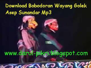 Download Bobodoran Wayang Golek Asep Sunandar Mp3