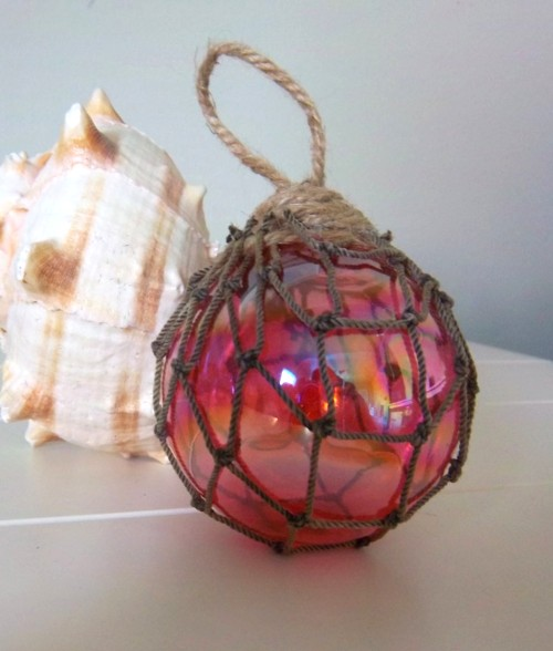 Glass Fishing Float Ornaments