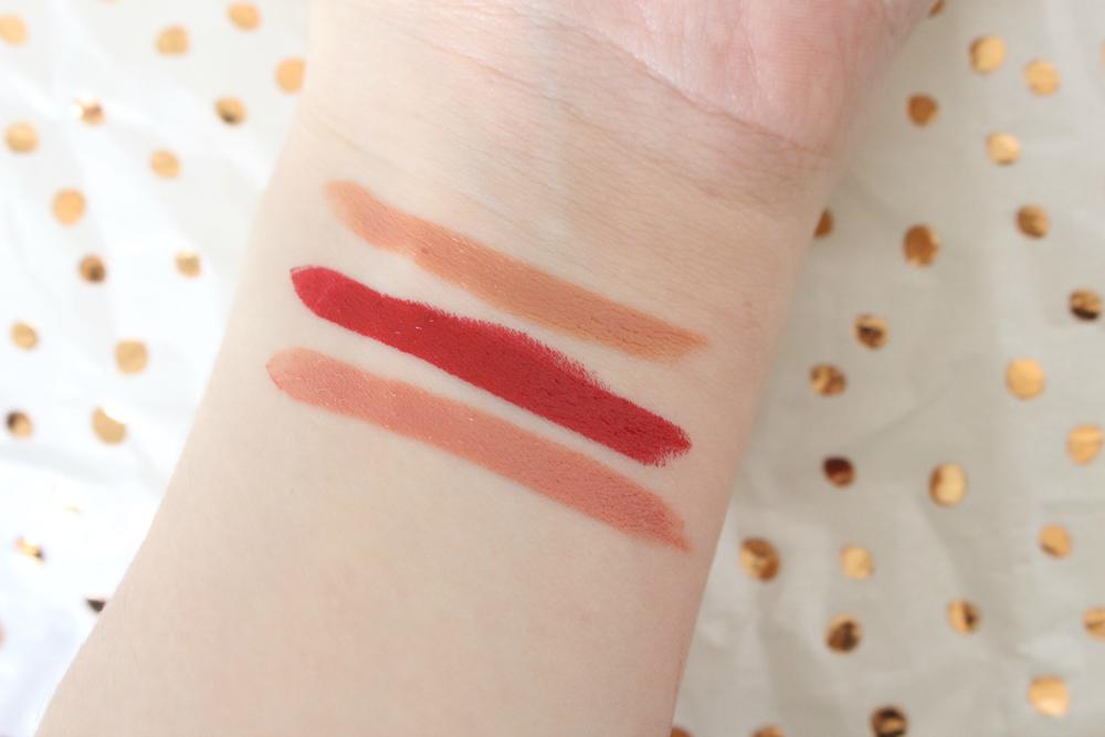 Charlotte Tilbury Mini Lipstick Charm Swatches