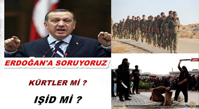 erdoğan kürtler ışid