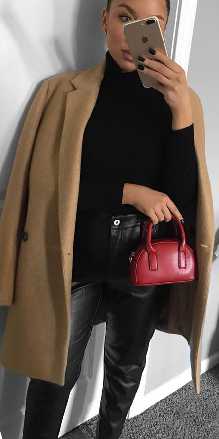 27+ Simple Winter Outfits To Make Getting Dressed Easy. clothing winter casual winter winter fashion inspiration winter clothes style winter day outfits winter fashion ideas #casual #casualstyle #casualoutfits #dresses