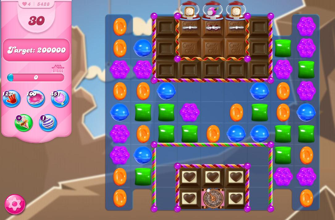 Candy Crush Saga level 5428