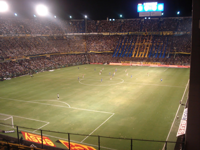 Jogo Boca Juniors - La Bombonera - Buenos Aires