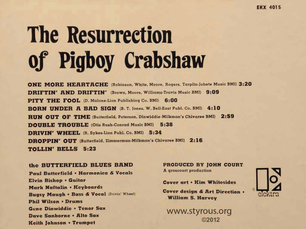 The Resurrection Of Pigboy Crabshaw