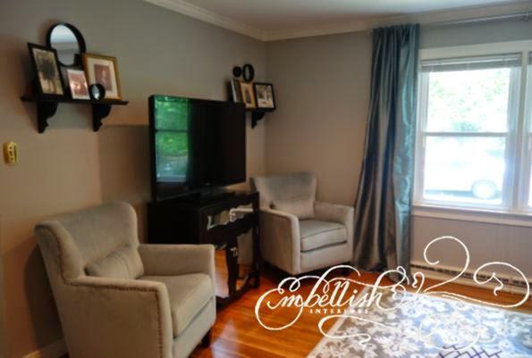 Embellish: Vintage Glam Living Room