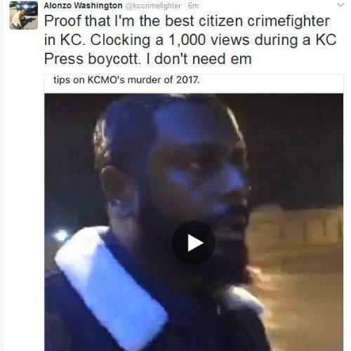 Tony's Kansas City: Kansas City Anti-Crime Activist Alonzo