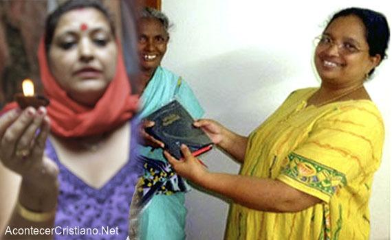 Mujer hindú abandona la brujería y acepta a Jesús