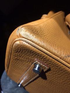 Hermès Birkin, sac de luxe, maroquinerie restauration, reparation sacs, refection sacs, teinture sacs, patine, sac