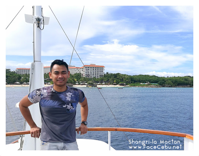 FaceCebu Blogger at The Celandine Yacht