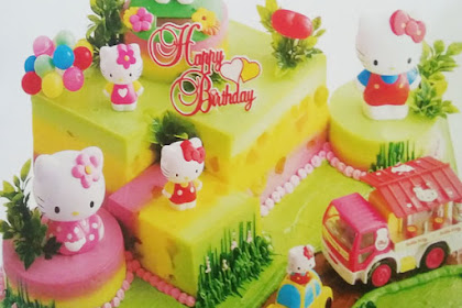 Resep Birthday Beauty Pudding