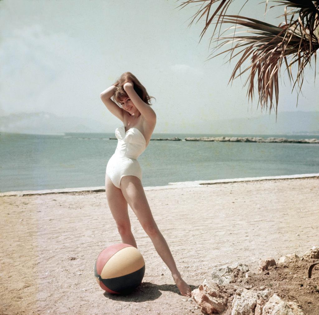 Brigitte Bardot Aged 19 at Cannes Film Festival