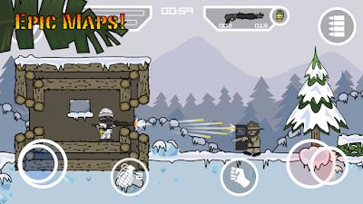 Doodle Army 2 : Mini Militia v3.0.136 Apk Mod Terbaru