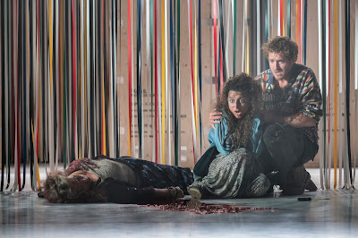 David Sawer: The Skating Rink - Susan Bickley, Claire Wild, Sam Furness - Garsington Opera (Photo Johan Persson)