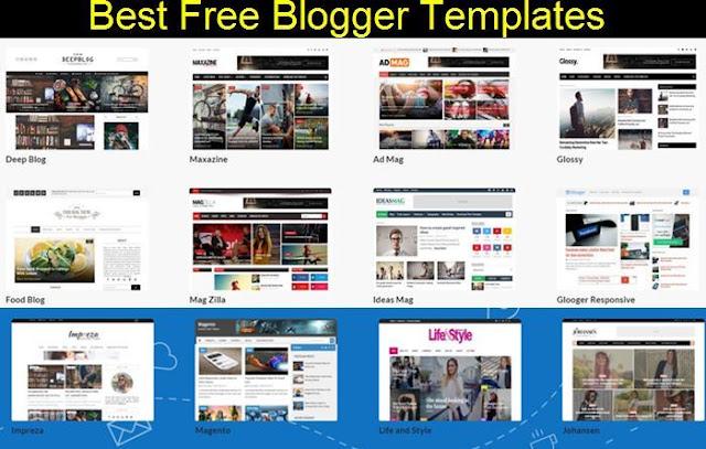 تحميل تجميعة افضل قوالب بلوجر design Blogger متوافقة مع جميع الشاشات والهواتف الذكية لسنة 2018 Responsive web